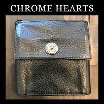 CHROME HEARTS Street Style Folding Wallets