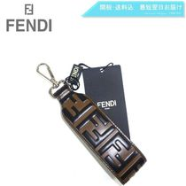 FENDI Monogram Leather Keychains & Holders