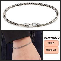 Tom Wood Unisex Plain Silver Bracelets