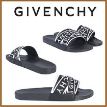 GIVENCHY Street Style Shower Shoes Shower Sandals
