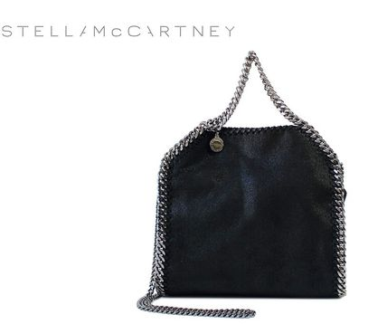 Stella McCartney FALABELLA Casual Style Faux Fur Blended Fabrics 2WAY Chain Plain