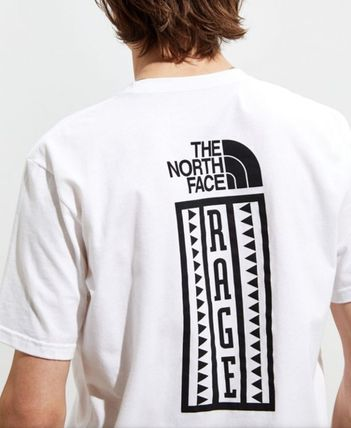 THE NORTH FACE Crew Neck Crew Neck Unisex Street Style Cotton Crew Neck T-Shirts 3