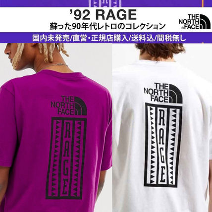 887aabbdf54 ... THE NORTH FACE Crew Neck Crew Neck Unisex Street Style Cotton Crew Neck  T-Shirts ...