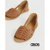 ASOS Casual Style Leather Sandals