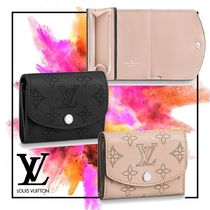 Louis Vuitton MAHINA Monogram Calfskin Long Wallets