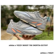adidas YEEZY Street Style Collaboration Leather Sneakers