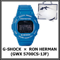 Ron Herman Unisex Street Style Collaboration Digital Watches