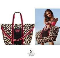 Victoria's secret Leopard Patterns Casual Style Totes