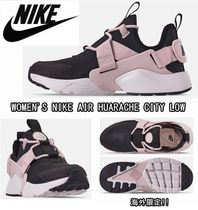 Nike AIR HUARACHE Rubber Sole Casual Style Street Style Low-Top Sneakers