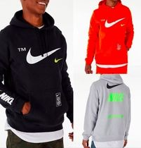 Nike Pullovers Unisex Street Style Long Sleeves Hoodies