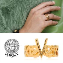 VERSACE Casual Style Street Style Rings