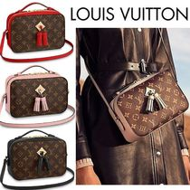 Louis Vuitton MONOGRAM Monogram Blended Fabrics Tassel Leather Shoulder Bags