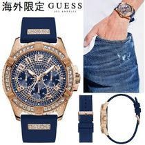 Guess Unisex Blended Fabrics Street Style Quartz Watches