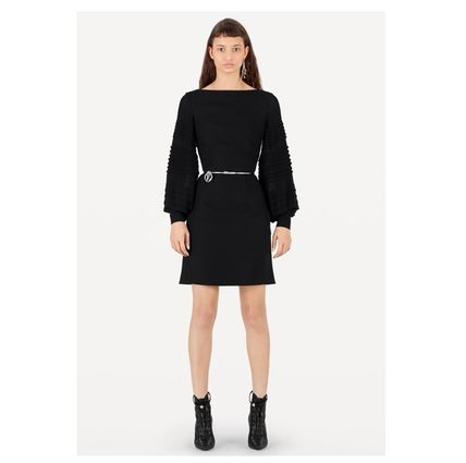 Louis Vuitton Dresses 2019-20AW LONGSLEEVE BY FABRIC DRESS black 34-40 Dresses   4