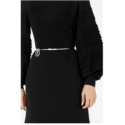 Louis Vuitton Dresses 2019-20AW LONGSLEEVE BY FABRIC DRESS black 34-40 Dresses   8