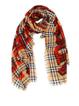Burberry Collaboration Scarves