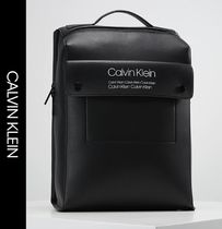 Calvin Klein Faux Fur Street Style Backpacks