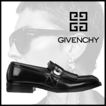 GIVENCHY Plain Toe Loafers Tassel Plain Leather Home Party Ideas