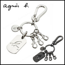 Agnes b Plain Keychains & Holders