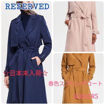 RESERVED Plain Medium Office Style Chester Coats