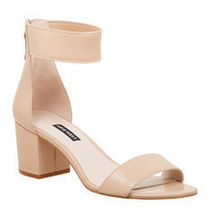 Nine West Plain Block Heels Heeled Sandals