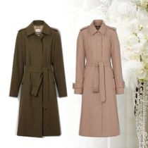 Burberry Other Check Patterns Plain Long Coats