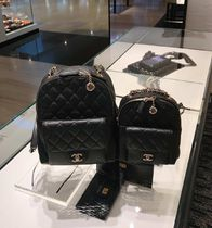 CHANEL Calfskin 2WAY Backpacks