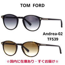 TOM FORD Unisex Round Sunglasses