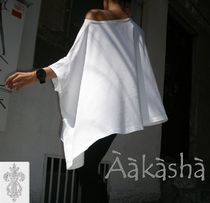 Aakasha Plain Medium Short Sleeves Handmade Oversized Bold Tunics