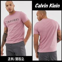 Calvin Klein Crew Neck Cotton Short Sleeves Crew Neck T-Shirts