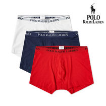 POLO RALPH LAUREN Plain Cotton Trunks & Boxers