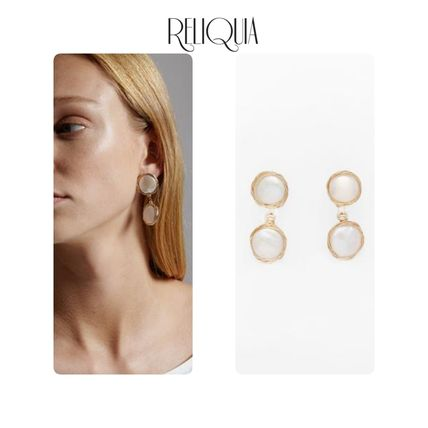 Party Style Brass 18K Gold Earrings & Piercings