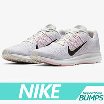 Nike AIR ZOOM Street Style Collaboration Plain Low-Top Sneakers