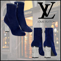 Louis Vuitton Suede Party Style Ankle & Booties Boots