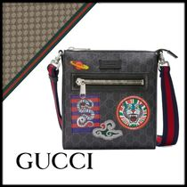 GUCCI Canvas Street Style Other Animal Patterns