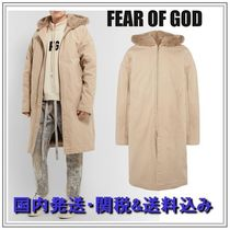 FEAR OF GOD Blended Fabrics Plain Long Parkas