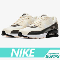 Nike AIR MAX 90 Street Style Collaboration Plain Low-Top Sneakers