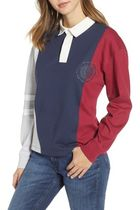 Tommy Hilfiger Casual Style Street Style Long Sleeves Cotton Medium