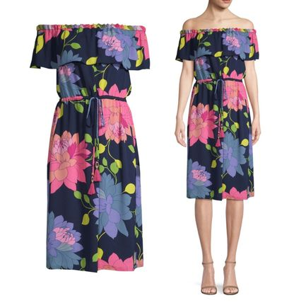 Flower Patterns Tropical Patterns Casual Style Cotton Medium