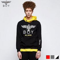 BOY LONDON Unisex Street Style Long Sleeves Other Animal Patterns