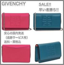 GIVENCHY Leather Elegant Style Shoulder Bags
