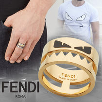 FENDI BAG BUGS Metal Rings