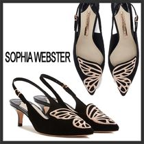 SOPHIA WEBSTER Plain Other Animal Patterns Leather