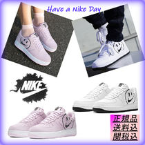 Nike AIR FORCE 1 Unisex Street Style Plain Sneakers
