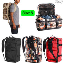 THE NORTH FACE Unisex Nylon Street Style A4 2WAY Bi-color Plain Backpacks