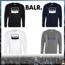 BALR Crew Neck Long Sleeves Cotton Sweatshirts