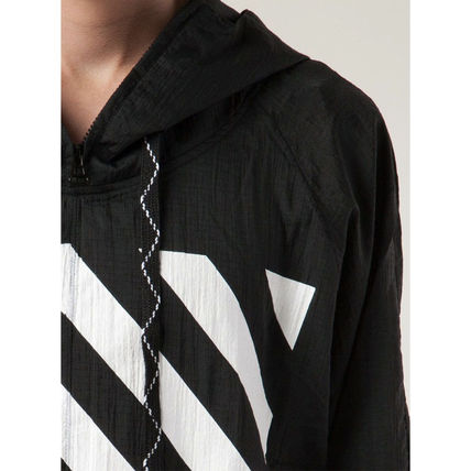 Off-White Hoodies Pullovers Unisex Street Style Long Sleeves Hoodies 3