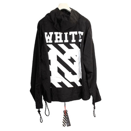 Off-White Hoodies Pullovers Unisex Street Style Long Sleeves Hoodies 5
