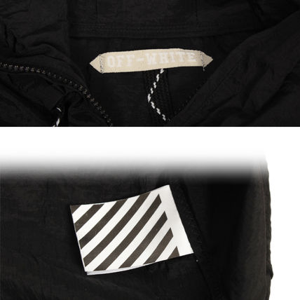 Off-White Hoodies Pullovers Unisex Street Style Long Sleeves Hoodies 8