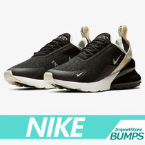 Nike AIR MAX 270 Street Style Collaboration Plain Low-Top Sneakers
